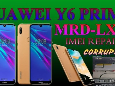 HUAWEI Y6 PRIME 2019    MRD-LX1F    Imei Repair New Security Aug / 2020 CON SIGMA KEY BY CELL SOLUTIONS
