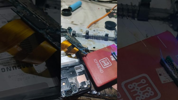 IC FRIEND UFS ISP PIN OUT TO EASY JTAG (TEST SAMSUNG A50S)