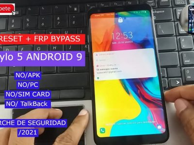 ¡¡¡AUGE!!!  BYPASS FRP + HARD RESET LG Stylo 5 LM-Q720PS Android 9 parche de suguridad / 2021