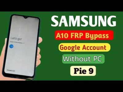 SAMSUNG A10 FRP BYPASS NUEVO MÉTODO ANDROID 9.0 BYPASS FRP SAMSUNG A10 FAST WORK 2021